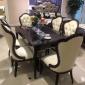 名帆新品 法式餐椅�W式餐桌椅 �W式仿古家具雕花餐桌椅 �S家批�l